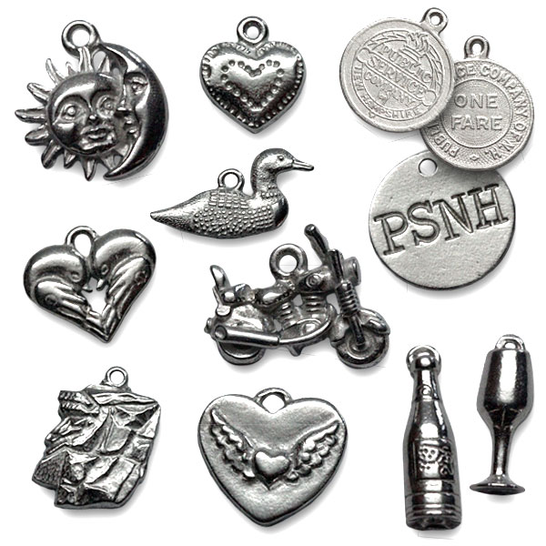 New collection of charms for bracelets and earrings