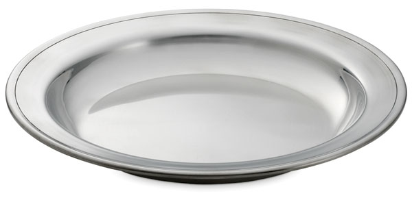 Photo of Pewter Deep Dish  sc 1 st  Plates | Gibson Pewter & Plates | Gibson Pewter