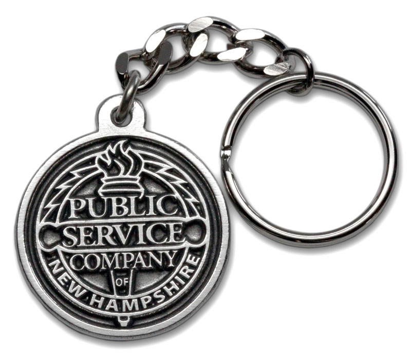 photo of PSNH Commemorative Keyring