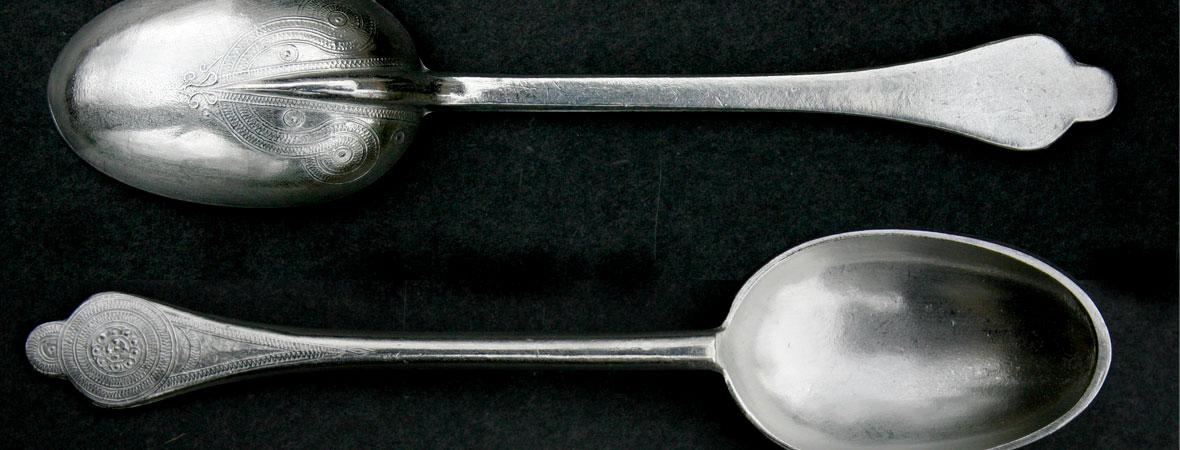 photo of Pewter Rosette Spoons