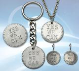 """Photo of Pewter """"Yes We Can"""" Jewelry"""