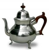 Footed Queen Anne Teapot