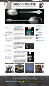 gibsonpewter.com home page