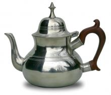 Photo of Queen Anne Pewter Teapot, without feet
