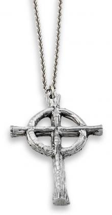 Photo of Pewter Celtic Cross & Chain