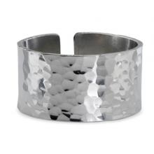 Photo of Hammered Pewter Napkin Ring