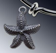Star Fish charm - Large