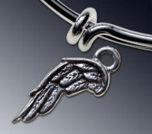 Wing charm