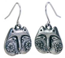 Photo of Pewter Cat Earrings