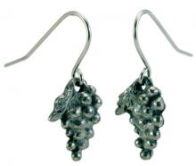 Photo of Pewter Grape Earrings
