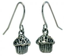Photo of Pewter Muffin Earrings
