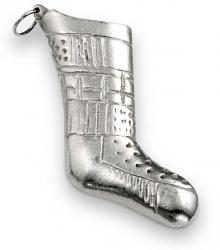 Photo of Plain Stocking Pewter Ornament