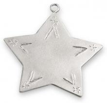 Photo of Pewter Star Ornament