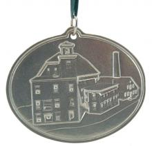 Photo of Contoocook Mills Building Pewter Ornament