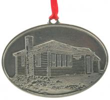 Photo of Old Center Schoolhouse Pewter Ornament