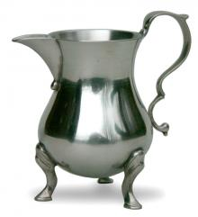 Photo of Pewter Creamer with Cabriole Feet