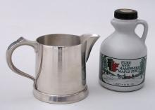 Photo of Syrup Pitcher with Local New Hampshire Maple Syrup