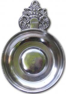 Photo of Antique Crown Handle Porringer