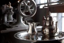 Photo of Queen Anne Tea Set in the Shop Setting