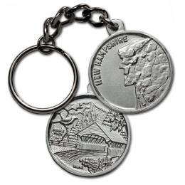 Old Man of the Mountain Keyring