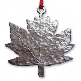 photo of Hammered Maple Leaf Ornament