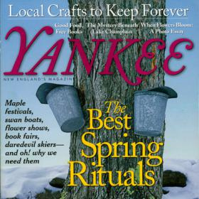 Yankee magazine cover Spring 2011