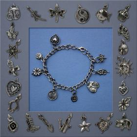 photo of Charm Bracelet and assorted charms