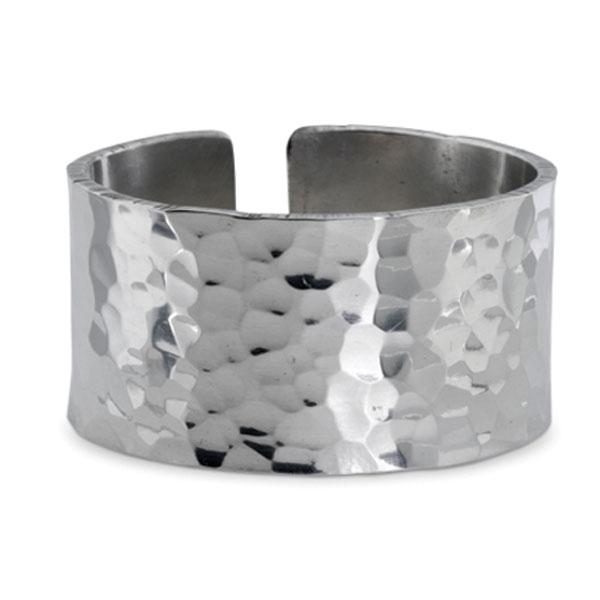 Hammered Napkin Ring